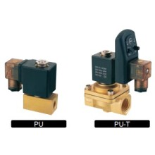 PU 2/2 Series Solenoid Valve Normal Closed Brass Valve