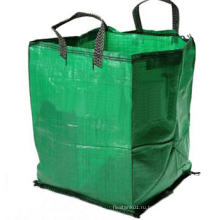 Цветная садовая зеленая большая сумка с двумя петлями
