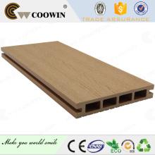 Buen precio de plástico de madera compuesto decks exterior aminnatie suelo