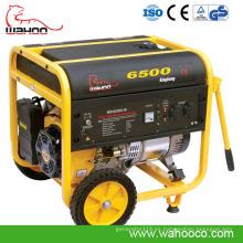 Nueva tecnología CE 5kw Wahoo Super Power Gasoline Generator (WH6500)