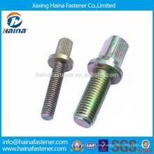 Nicht-Standard-Anpassung Farbe Verzinkt Gr5 Kohlenstoff Stahl Flansch Schraube