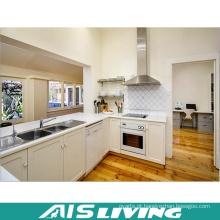 Mobília branca pequena dos armários de cozinha da fábrica de Foshan (AIS-K380)