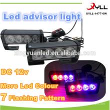 8w neues Produkt führte blinkende Dachlichtleiste, 4x4 Offroad und Notfall LED-Lichtleiste, 6w Mini LED-Schlaglicht