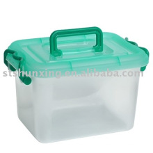 caixa de armazenamento de poster plástico clássico transparente para venda