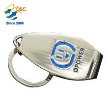 Qualitäts-Logo-Förderungs-Metallmünze Keychain