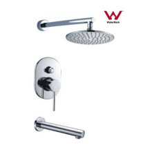 Modern Design Round Bathroom Faucet Shower Mixer (CP-F0420-1)