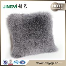 Gros mongol agneau fourrure couverture