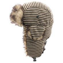 2014 Fake Fur Earflap Cap