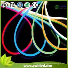 Sinal de néon LED azul para tampa de PVC colorida