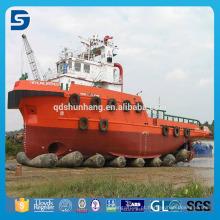 Bolsa a ar marinha de borracha do fornecedor de China para o navio que lança a atualização pesada
