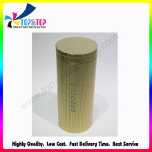 Caja de papel redondo de grado superior OEM Welcomed Cylinder Packaging Tube