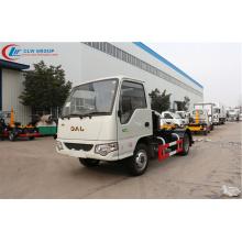 Camión de basura 2019 nuevo JAC 3cbm cargador de gancho