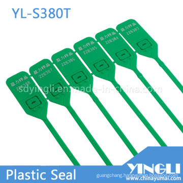 Pull Tight Disposable Customized Plastic Seal Tag (YL-S380T)