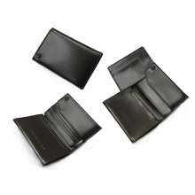 business card holder PU leather