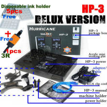 Delux Version Hurricane HP-3 Tattoo Power Supply