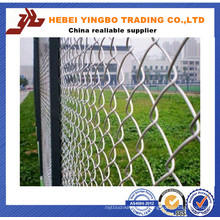 PVC Coated Galvanized Chain Link Fence for Baseball Field