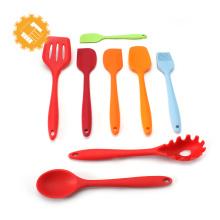 Spatule de silicone de cuisson d'outils de pâtisserie de la Chine, spatule de pâtisserie de silicone