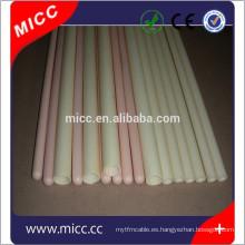 tubo de cerámica industrial de alúmina de alta pureza 99% al2o3