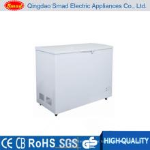 Home or supermarket use solar powered 12v dc deep freezer