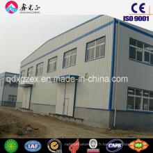Entrepôt de structure en acier préfabriqué de conception personnalisée (SSW-34)
