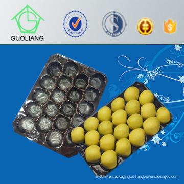 Bandeja celular do transporte plástico perfurado Thermoformed da bolha do fabricante de China para o uso industrial de empacotamento de alimento