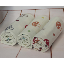 Big Size 100% Cotton Gauze Mushroom Baby Towel With150X220cm