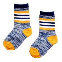 Crianças clássicas meias de tripulação de algodão (ka024)