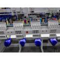 2 Head machine à broder de chapeau avec 9 aiguilles opération d'ordinateur vente chaude