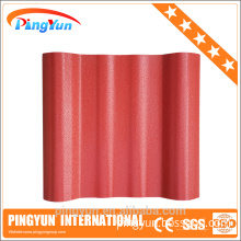 Anti uv plastic new wave roofing sheet for house/pvc plastic corrugated tile prices/Strengthened roofing materials in india