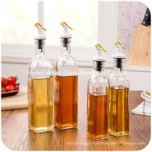 Hotsale baratos y de alta calidad aceite de cocina / vinagre / salsa de soja botella de vidrio