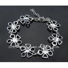 Moda 925 pulseira de charme de prata para as mulheres BSS-031