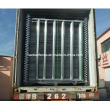 2.1m 6 Bar 60X30 / 40X40 Овальная железнодорожная скотская панель