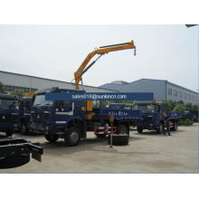 5000kg Lifting Capacity Truck-Mounted Foldable Arm Crane