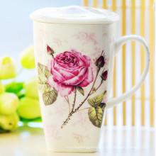 Taza de regalo de porcelana hermosa Taza de cerámica de estilo de China