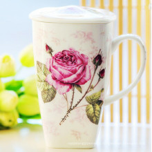 Beautiful Porcelain Gift Cup China Style Ceramic Cup