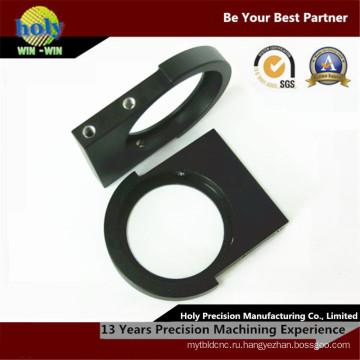 Квалифицированный Производитель оптических компонентов с ЧПУ черный анодированный алюминий