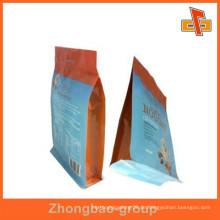 Benutzerdefinierte bedruckte Folie Lebensmittel Verpackung Nylon Tasche mit Loch