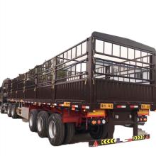 Tri-axle Warehouse Box Van Fence Semi Trailer