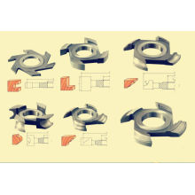 Wood Shaper Cutters,premium Chrome Steel Solide Steel Cutters Series For Cutting Soft Wood
