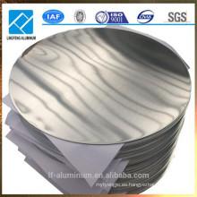 Rodillo de aluminio del círculo de la venta caliente 1050 1070 3003 para los utensilios de cocina