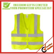 Gilet réfléchissant de sécurité de haute visibilité imprimé par logo promotionnel