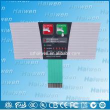 Interruptor de la membrana del botón de la alta calidad LED con 3M467