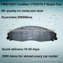 D921 Almofada de travão para Cadillac CTS 2003-2007 F