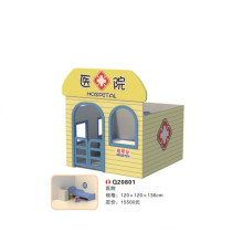 2014 new design hot sale cheap wooden playhouse