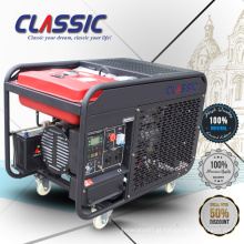CLASSIC (CHINA) Gerador Diesel refrigerado a ar Preço 10kw, Confiável 12.5 kva Gerador Diesel, Geradores Diesel 380 volt Portátil