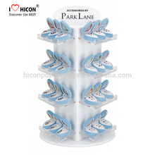 Para conectar su marca a los consumidores Tienda de joyería Diseño de exhibición Accesorios de diamante Cubierta de mostrador superior