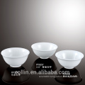 Factory wholesale ceramic white bowl for restaurant and hotel