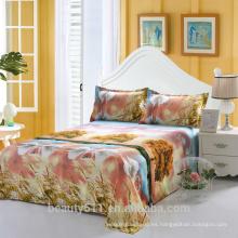 Amor en el otoño 100% algodón o mezcla de algodón funda de edredón / al por mayor cama sábanas / cama de almohada Hotel cama BS05