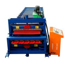 1000-1000 Rollo de azulejo doble que forma la máquina