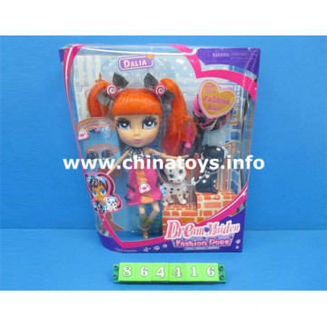2016 The Latest Baby Toy Doll Plastic Toy (864416)
